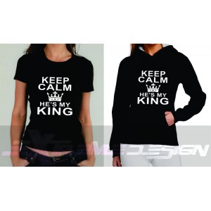 Keep calm he's my King