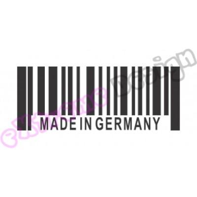 Nalepka Made in Germany