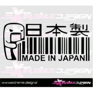 Nalepka Made in Japan