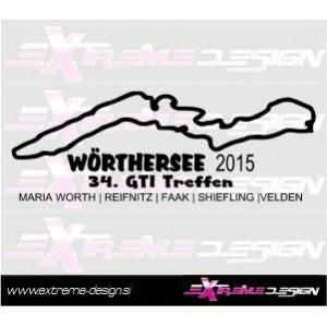 Nalepka Wörthersee 2015