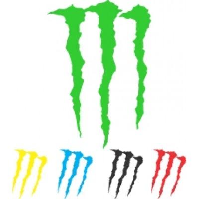 Nalepka Monster 1