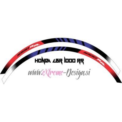 Nalepke trakovi za platišča Honda CBR 1000 RR