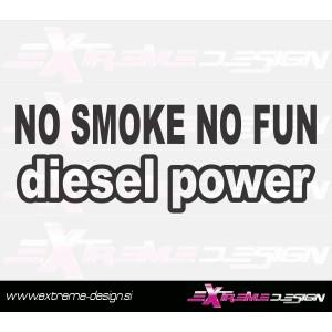Nalepka Diesel Power