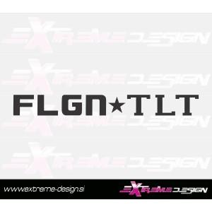 Nalepka FLGN TLT