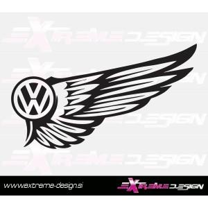 Nalepka VW krila
