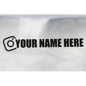 Nalepka Instagram
