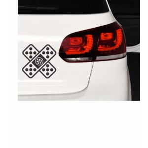 Nalepka VW obliž